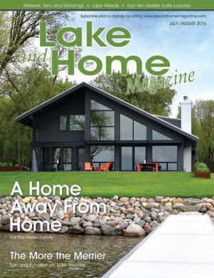 Lake And Home