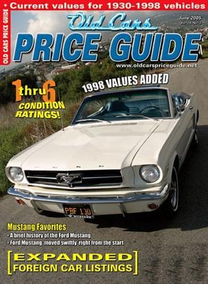 Old Cars Price Guide